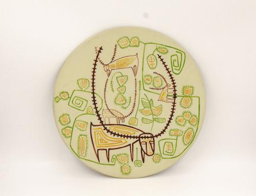 Piatto ceramica Paolo Loddo