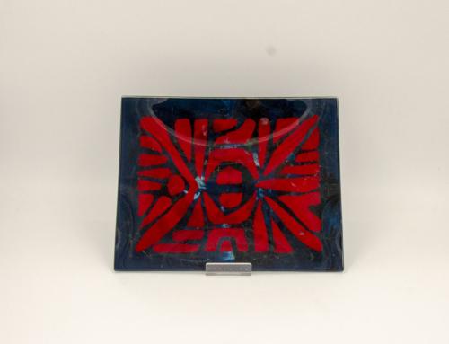 Erwin Walter Burger piatto vetro
