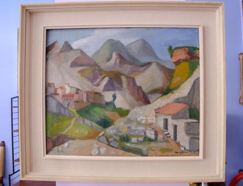 Alfredo Mantica quadro