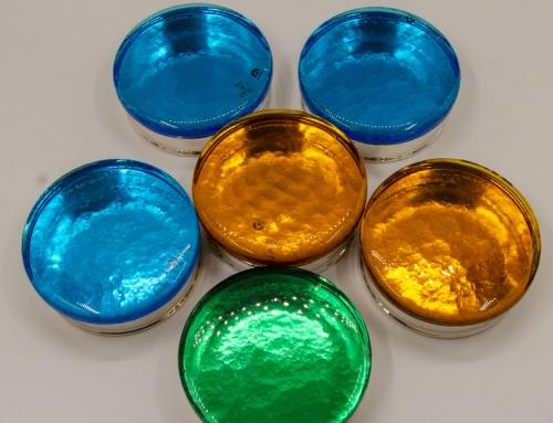 Porta gioie in vetro di Murano
